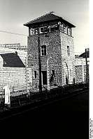 One guard tower of KZ Gusen I